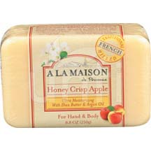 A La Maison Bar Soap Honey Crisp Apple 8.8 oz