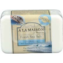 A La Maison Bar Soap Fresh Sea Salt 8.8 oz