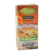 Creamy Butternaut Squash Soup - Light Sodium