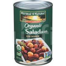 Organic Salad Beans - Low Sodium