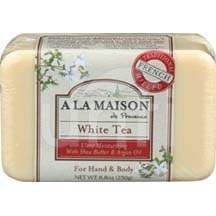 A La Maison Bar Soap White Tea 8.8 oz