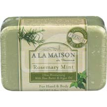 A La Maison Bar Soap Rosemary Mint 8.8 Oz