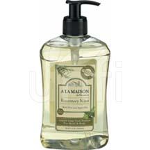 A La Maison French Liq Soap Rsmry Mnt 16.9 Fz