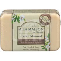 A La Maison Bar Soap Sweet Almond 8.8 oz